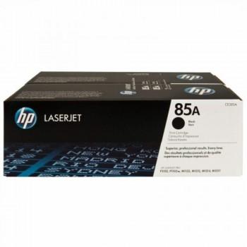 HP 85AD Black Dual Pack LaserJet Toner Cartridges (CE285AD)