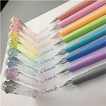 Chosch 8 Color Gel Pen (CS-956)