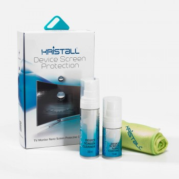 Kristall TV and Laptop Monitor Screen Nano Liquid Coating Device Screen Protection for Universal Glass Screen - Non-Toxic, Super Hydrophobic, Deep Gloss, Repel Tiny Particles Dirt