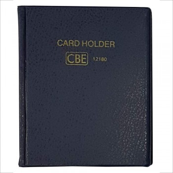CBE 12180 PVC Name Card Holder - Blue
