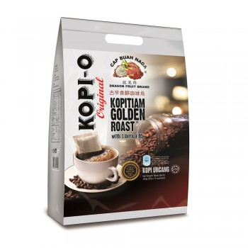 Dragon Fruit Brand - Kopi O Kopitiam Golden Roast 20g x 15 sticks