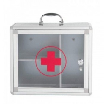 First Aid Box WB630 27H x 30W x 11D cm (Item No: G04-03) A1R5B94