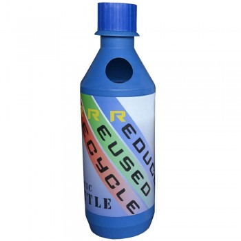 BONANZA (HDPE) Bottle - Size : 440mm(Dia) x 1410mm(H)--per set c/w sticker & PE liner