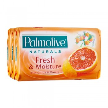 Palmolive Fresh & Moisture Bar Soap Valuepack 80g x 3