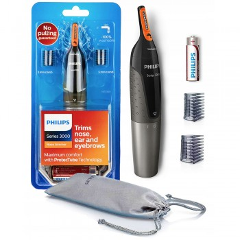 Philips NT3160 Series 3000 Comfortable Nose, Ear & Eyebrow Trimmer