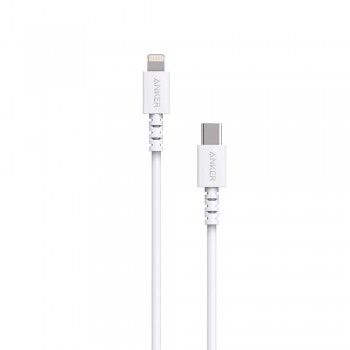 Anker PowerLine Select USB-C to Lightning Connector Cable White (1.8M)