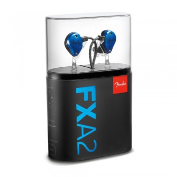 Fender IEM FXA2 In-Ear Monitor - Blue