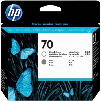 HP 70 DesignJet Printhead - Gloss Enhancer/Gray (C9410A)