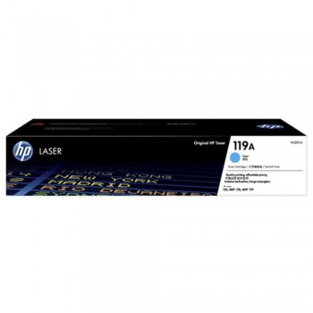 HP 119A Cyan Original Laser Toner Cartridge