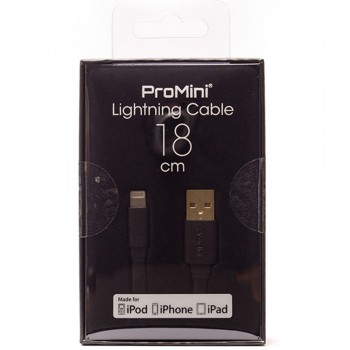 Magic Pro - ProMini Lightning Cable 18cm - Black