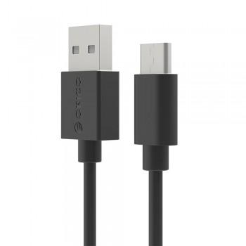 Orico ECU-02 USB to Type C Data Cable 0.2m - Black