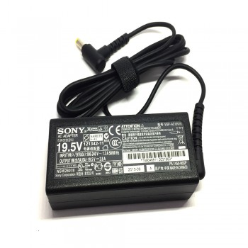 Sony Original AC Adapter Charger - 75W, 19.5V 3.8A, 4.8X1.7mm for Sony (VGP-AC10V10)