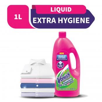 Vanish Extra Hygiene Fabric Stain Remover Liquid 1L