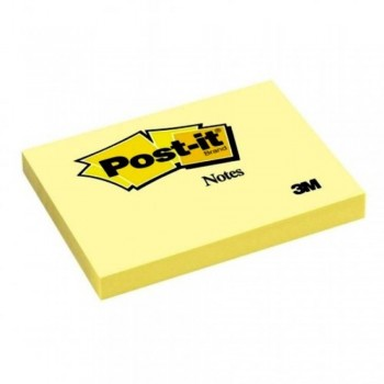 3M Post-it® Notes 657 - 3in x 4in, 100 sheets - Canary Yellow