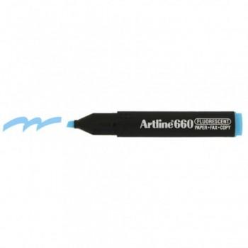 Artline 660 Highlighter EK660 - Fluorescent Blue