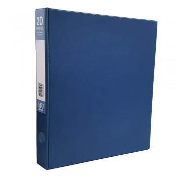 CBE 2D635 2-O 25MM PVC Ring File(A4) Blue