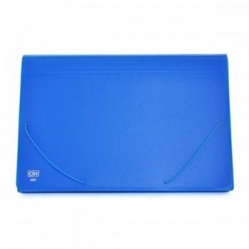 CBE Expanding File F4 4301 - BLUE (Item No: B10-15 BL) A1R1B38