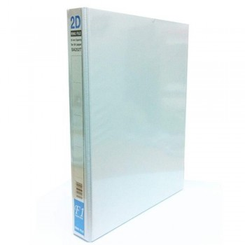 East-File 2D Ring File — 25mm Capacity for A4 Paper (Item No:B11-87) A1R1B127