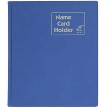 East File NH320 PVC Name Card Holder-Blue