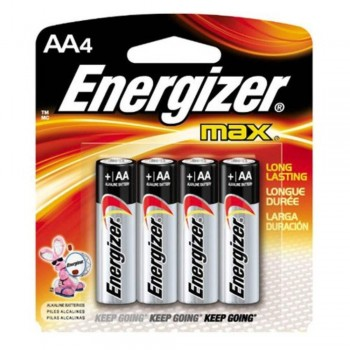 Energizer MAX AA Alkaline Batteries - 4pcs pack (Item No: B06-06) A1R2B219