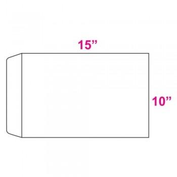 White Envelope - 100gsm - 250 pcs 10-inch x 15-inch (Item No: C03-18) A5R1B4