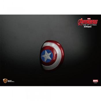Marvel Avengers 2 3D Magnet - Captain America Shield