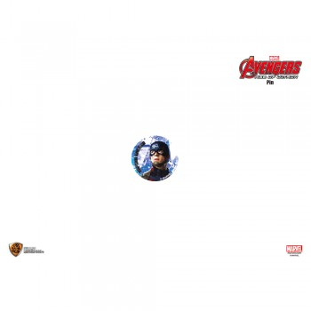 Marvel Avengers 2 Pin - C Captain America