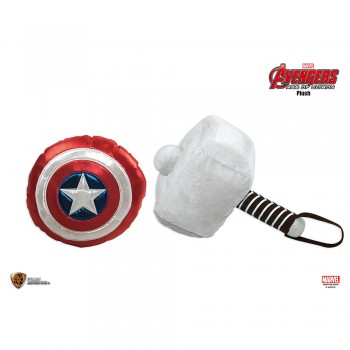 Marvel Avengers 2 Plush - Captain's Shield