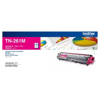 Brother TN-261 Magenta Toner Cartridge