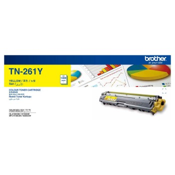 Brother TN-261 Yellow Toner Cartridge