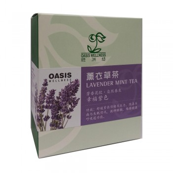 Oasis Wellness Lavender Mint Tea 8's