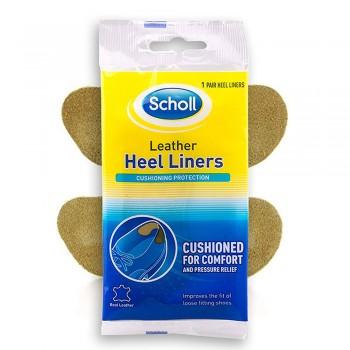 Scholl Leather Heel Liners