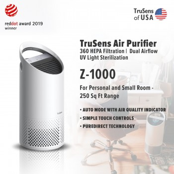 Trusens Z-1000 Air Purifier, Personal and Small Room - 250 Sq Ft Range