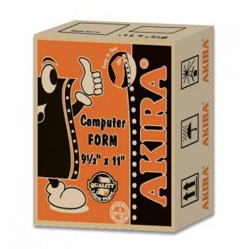 "Akira Orange Ncr 3Ply Wpb 9.5"" X 11"" (300Fans)"